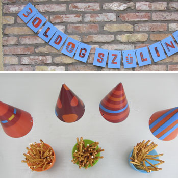 birthday party decoration